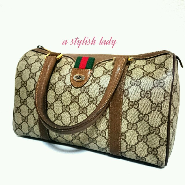 37386f321987 Gucci - 本物❤オールドグッチ❤ボストンバッグの通販 by ♡parfum♡'s ...