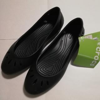 クロックス(crocs)のクロックス フラット パンプス 23cm(サンダル)