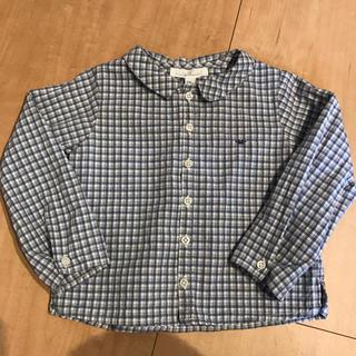 ファミリア(familiar)のマリーシャンタル チェックシャツ(ブラウス)