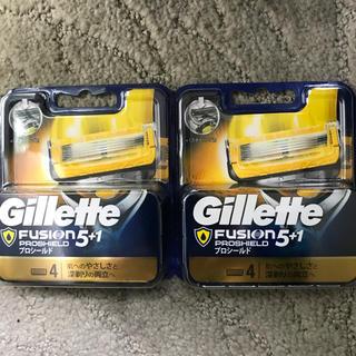 ジレ(gilet)のジレット フュージョン プロシールド NEWパッケージ 替刃合計8個(日用品/生活雑貨)