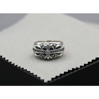 クロムハーツ(Chrome Hearts)のK155クロムハーツリングダイヤ(リング(指輪))