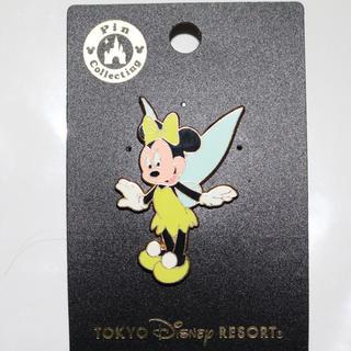 Disney - ミニー ティンカーベル ピンバッチ