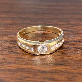 アヴァランチ(AVALANCHE)のavalanche  イエローゴールドリング(リング(指輪))