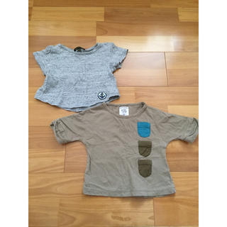 エーキャンビー(A CAN B)のA can B ベビー  トップス  2枚セット 80(Tシャツ)