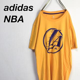 アディダス(adidas)の★アディダス★ Tシャツ NBA レイカーズ デカロゴ ビッグシルエット(Tシャツ/カットソー(半袖/袖なし))