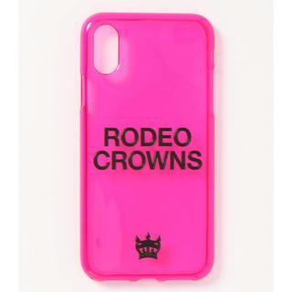 ロデオクラウンズワイドボウル(RODEO CROWNS WIDE BOWL)のR goods MOBILE CASE♡ロデオクラウンズワイドボウル(iPhoneケース)