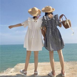 STYLENANDA - バタフライストラップワンピース 韓国ファッション トレンド 春 夏