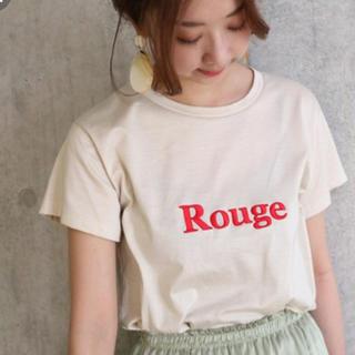 ノーブル(Noble)のNOBLE eden NOBLE LOGO Tシャツ★ベージュ(Tシャツ(半袖/袖なし))