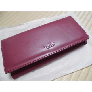 fd0aa4c53ad0 カンサイヤマモト(Kansai Yamamoto)のカンサイセレクション レディース 長財布 ワインレッド(財布