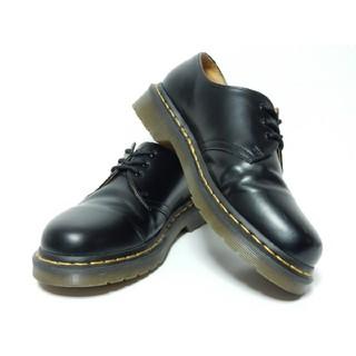 ドクターマーチン(Dr.Martens)の極上美品!【定価¥22680】ドクターマーチンUK6ブラック3ホール黒(ブーツ)