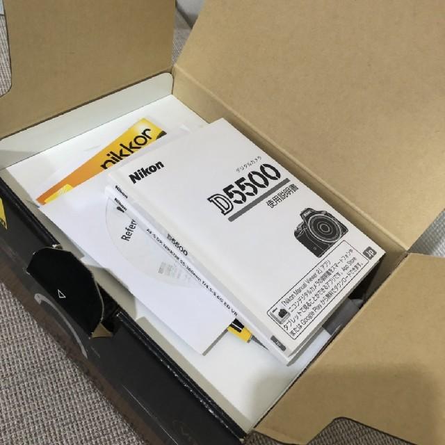 Nikon(ニコン)の【コメット113様専用】Nikon D5500 超美品 ボディ単体 スマホ/家電/カメラのカメラ(デジタル一眼)の商品写真