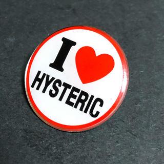 ヒステリックミニ(HYSTERIC MINI)のピンバッジ ヒステリックミニ I LOVE HYSTERUIC(バッジ/ピンバッジ)