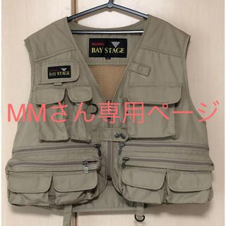 フィッシングベスト★Mサイズ  bay stage (ウエア)