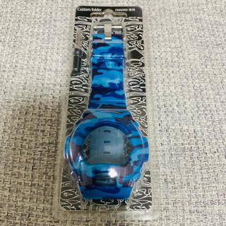 ジーショック(G-SHOCK)の新品!G-SHOCK カスタムカバー 迷彩 青 ブルー(腕時計(デジタル))