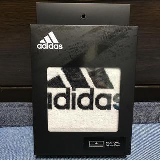 アディダス(adidas)の☆新品☆ adidasアディダス フェイスタオル 34cm×80cm(その他)