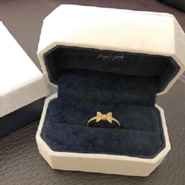 AHKAH(アーカー)の売り切り❗️新品 AHKAH ポルトリボンリング レディースのアクセサリー(リング(指輪))の商品写真