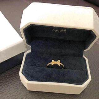 アーカー(AHKAH)の売り切り❗️新品 AHKAH ポルトリボンリング(リング(指輪))