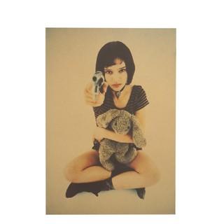 【超人気商品】レオンポスター A:銃とマチルダ B3サイズ51.5x36cm