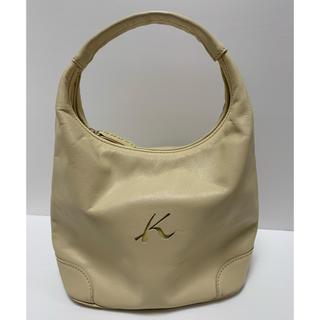 f15c24de15a8 キタムラ(Kitamura)のKitamura キタムラ 上品なベージュバッグ 持ち手ステッチが素敵