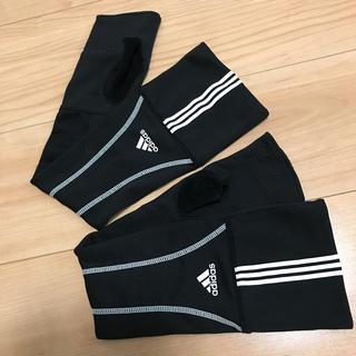 adidas - アディダス adidas UVカット グローブ アームカバー ロング丈 指なし