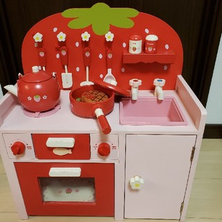 マザーガーデン キッチン セット 赤バージョン