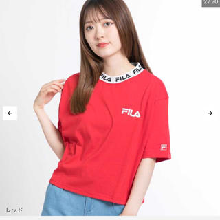 フィラ(FILA)の別注FILAリブロゴT(Tシャツ/カットソー(半袖/袖なし))