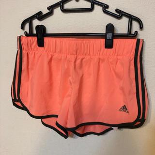 アディダス(adidas)の新品 ショート パンツ アディダス レディース ランニング 短パン フィットネス(トレーニング用品)