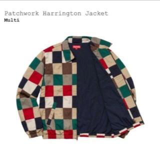 シュプリーム(Supreme)のsupreme Patchwork Harrington Jacket m(ブルゾン)
