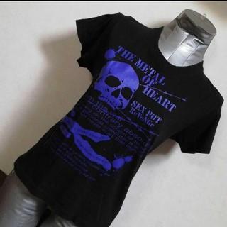 セックスポット(SEXPOT)のSEX POT スカルプリント Tシャツ(Tシャツ(半袖/袖なし))