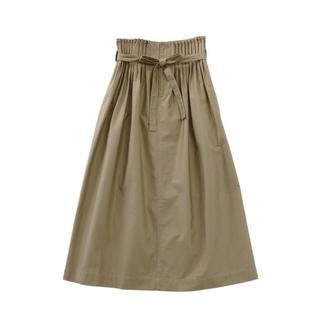 ルカ(LUCA)のRitaJeansTokyoリタジーンズアコーディオンスカートベージュ☆(ロングスカート)