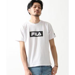 フィラ(FILA)のFILA ボックスロゴTシャツ 1(Tシャツ/カットソー(半袖/袖なし))