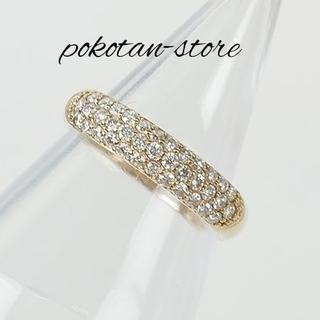ポンテヴェキオ(PonteVecchio)の極美品【ポンテヴェキオ】K18PG  ダイヤモンド  リング 0.40ct(リング(指輪))