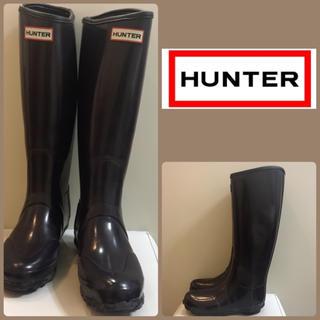 ハンター(HUNTER)のハンター パープルレインブーツ(レインブーツ/長靴)