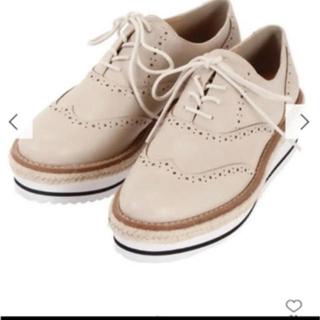 マーキュリーデュオ(MERCURYDUO)のマーキュリーデュオ 厚底レースアップブーツシューズ(ローファー/革靴)