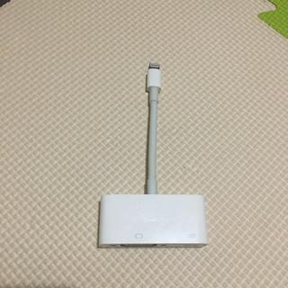 アップル(Apple)のアップル Apple MD825AM/A [Lightning-VGAアダプタ](映像用ケーブル)