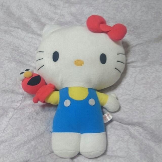 ハローキティ(ハローキティ)の大きなキティのヌイグルミ(40㎝) エンタメ/ホビーのおもちゃ/ぬいぐるみ(ぬいぐるみ)の商品写真
