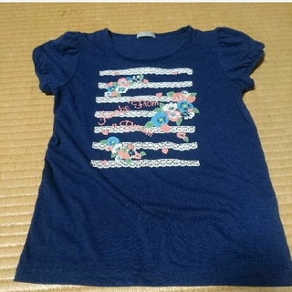 ジーユー(GU)のGU 女の子 Tシャツ 140センチ(Tシャツ/カットソー)