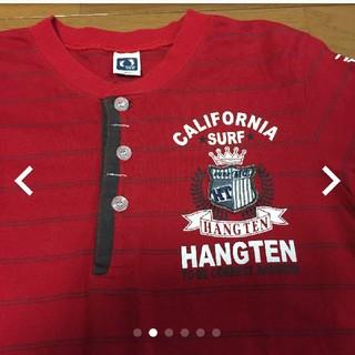 HANGTEN  赤シャツ サイズ150。
