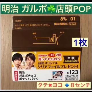 Sexy Zone - ガルボ◆菊池風磨   中島健人◆ 店内POP ‼️