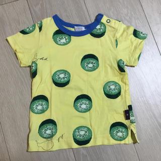 ハッカベビー(hakka baby)のハッカベビーキューイシャツ☆美品☆(シャツ/カットソー)