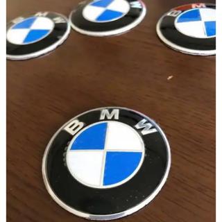 ビーエムダブリュー(BMW)のBMW エンブレム デカールシール 未使用約φ5.6cm 2枚セット新品(車種別パーツ)