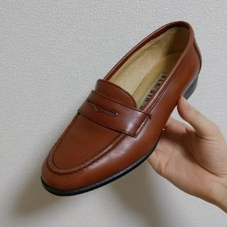 ダイアナ(DIANA)のダイアナ 本革 ローファー キャメル 茶 ヴェリココ (ローファー/革靴)