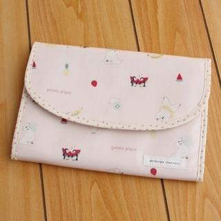 gelato pique - ジェラートピケ 母子手帳ケース しろくまフルーツ柄 ピンク 新品未開封