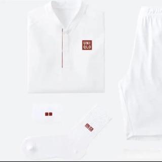 ユニクロ(UNIQLO)のロジャー・フェデラー選手 2018ウィンブルドン着用モデル  リストバンド(その他)
