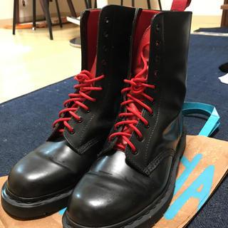 ドクターマーチン(Dr.Martens)のドクターマーチン 10ホールブーツ スワッガーコラボ uk10(ブーツ)
