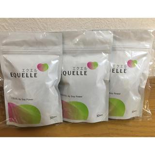 オオツカセイヤク(大塚製薬)の新品・未開封 エクエル EQUELLE 3袋セット 送料無料(その他)