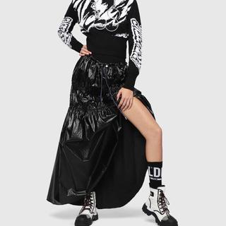 ディーゼル(DIESEL)のDIESEL 2019 ss スカート 新作 今季(ロングスカート)
