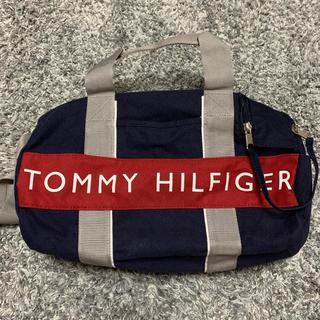 TOMMY HILFIGER - TOMMY HILFIGER/ボストンバッグ/ショルダー/ハンドバッグ/ネイビー