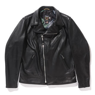 ステューシー(STUSSY)のSTUSSY Schott Motorcycle Jacket 38 ライダース(ライダースジャケット)