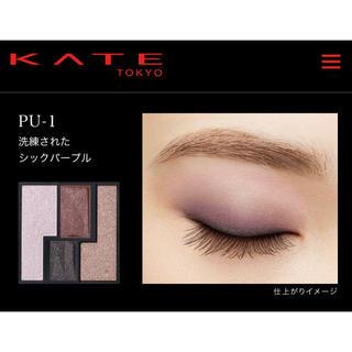 ケイト(KATE)のヴィンテージモードアイズシックパープル(アイシャドウ)